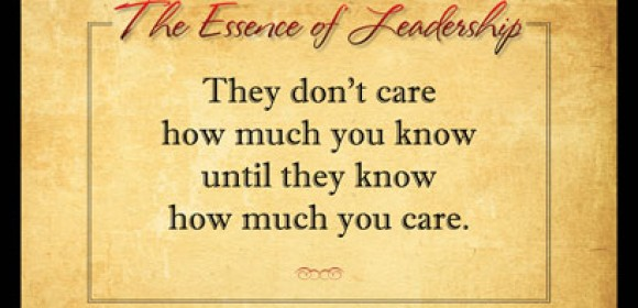 The Essence of Leadership